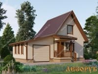 DB-7 : Проект дома 6х8 м