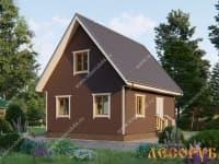 DB-25 : Проект дома 8х10 м
