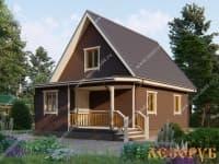 DB-20 : Проект дома 6х6 м