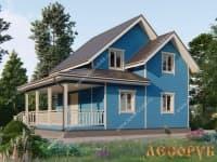 DB-2 : Проект дома 5х5 м
