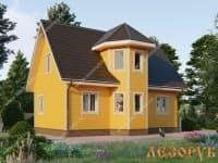 DB-3 : Проект дома 6х8 м