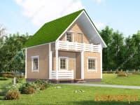 DB-44 Проект дома 9х6 м