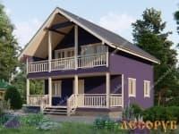 DB-11 : Проект дома 9х9,5 м