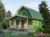 DB-15 : Проект дома 6,5х6,5 м