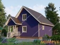 DB-1 : Проект дома 6х6 м