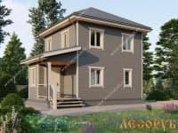 DB-6 : Проект дома 7х8 м