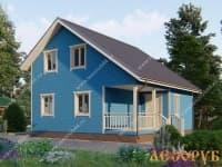 DB-24 : Проект дома 6х9 м
