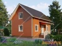 DB-21 : Проект дома 6х6 м