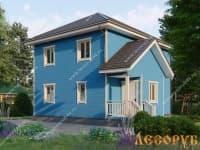 DB-5 : Проект дома 7х7 м