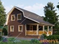 DB-19 : Проект дома 6х6 м