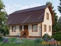 DB-16 : Проект дома 9,5х10 м